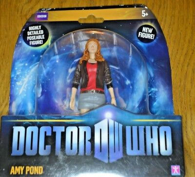 Modern Vintage Dr Who Action Figure Amy Pond; Factory Sealed • 40£