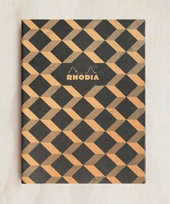 AU16.95 • Buy Rhodia Heritage Notebook - B5 - Ruled - Escher Black - Made In France Stationary