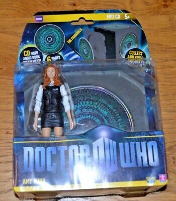 Modern Vintage Dr Who Action Figure; Amy Pond; Audio Book CD 05 Factory Sealed  • 50£