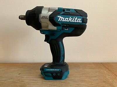 Makita DTW1002Z 18V LXT BRUSHLESS 1/2  Impact Wrench Body Only • 205£