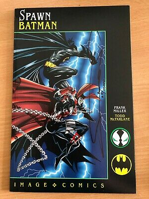 Spawn Batman Image Comics Signed By Frank Miller & Certificate 0670 • 95£