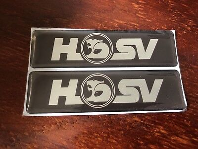 AU25 • Buy Pair Of Hsv Side Skirt Badge Suit Vr Vs Series Clubsport/maloo