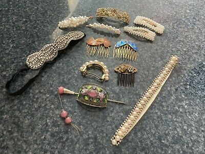 $10 • Buy Vintage Inspired Hair Accessories Lot