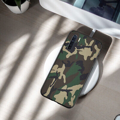 AU14.30 • Buy OPPO AX5/A73/A59/A57/A91/A52 Case Ultra Thin Soft Cover Soldier Camouflage