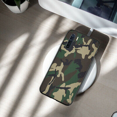 AU13.60 • Buy OPPO AX7/AX5/A73/A9 2020/A91/A52 Case Ultra Thin Soft Cover Soldier Camouflage