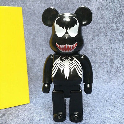 $38.99 • Buy New Venom Bearbrick Action Figure 400% Be@rbrick Cos Venom Doll PVC ACGN Figure