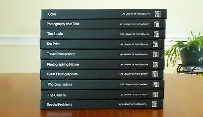 Time Life Library Of Photography Lot Of 10 Hardcover Volumes - Like New • 28.60£