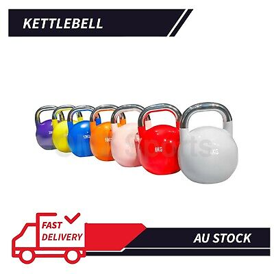 AU71.91 • Buy 4/6/8/10/12/16/20KG Kettlebell Kettle Bell Set Weight Fitness Exercise Home Gym