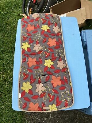 $13.75 • Buy Maclaren Pushchair Liner Double Sided  Autumn Leaves