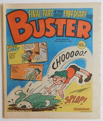 £2.99 • Buy BUSTER Comic - 18th February 1984