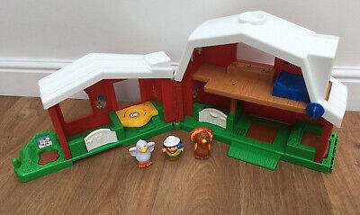 Fisher Price Little People Farm Barn With Animals And Person Character Figure • 6.50£