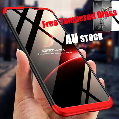 AU9.39 • Buy 360°Protection Shockproof Slim Cover Heavy Duty Case Fr Huawei Y7 Pro Prime 2019