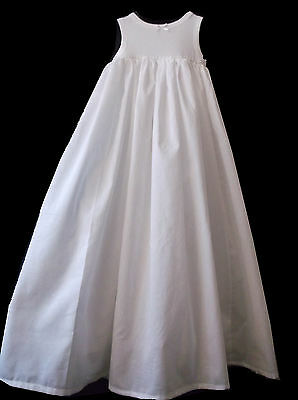 £15.99 • Buy BABY CHRISTENING BAPTISM GOWN DRESS COTTON PETTICOAT LONG UNDERSKIRT All Lengths