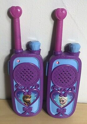 $ CDN32.94 • Buy Disney Frozen Chill N Chat FRS 2 Way Radio Elsa & Anna Long Range WalkieTalkie
