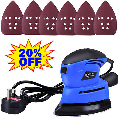 Tight Corners Sander Angle Base Hand Held Sanding Machine Mini Electric Sander • 18.54£