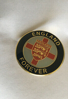 "Be Proud Be English! ""England Forever"" Pin Badge Free Uk Post • 3.99£"