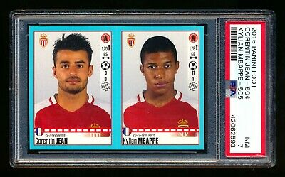 $ CDN115.45 • Buy 2016 Panini Foot Soccer Kylian Mbappe Rc Rookie Sticker France Rare Psa 7 Nm!