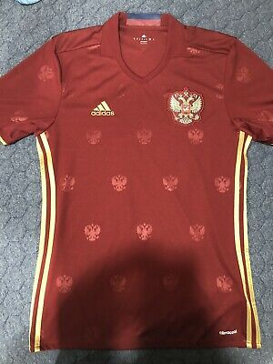 $25 • Buy Adidas Russia National Football Team Euro 2016 Home Jersey Size Medium