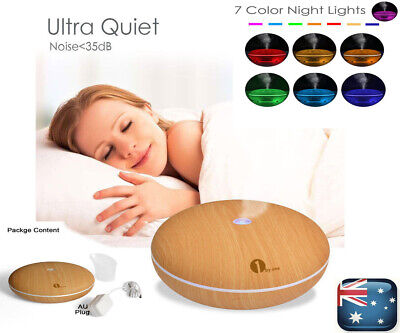 AU15.99 • Buy Aroma Aromatherapy Diffuser LED Essential Oil Ultrasonic Air Humidifier Purifier