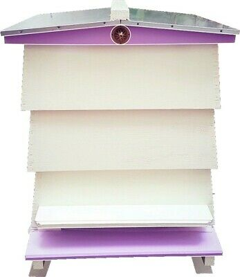 WBC Bee Hives: New Custom Painted Assembled Beehives – Cedar Wood – Complete • 550£