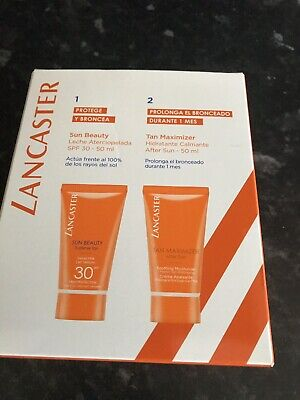 Lancaster Sun Care Tan Care +maximizer 50ml Each Bnib  • 15£