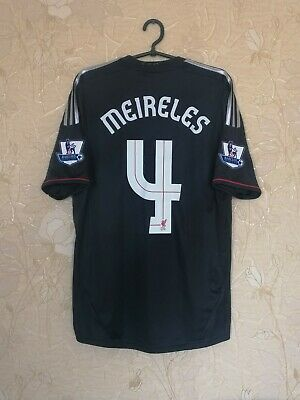 Liverpool 2011 - 2012 Away Football Shirt Jersey Adidas #4 Meireles Size M • 53.20£