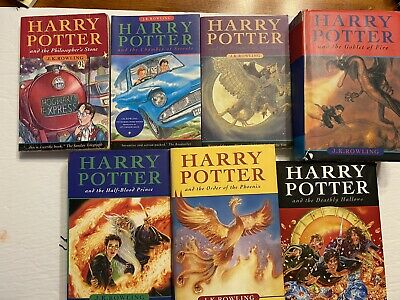 $ CDN114.99 • Buy Complete Lot Bundle Harry Potter Books Set Hardcover Softcover Book 1-7 1 To 7