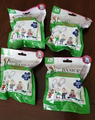 $ CDN26.71 • Buy LOT Of 4 Baldi's Basics Collector Clips Mystery Pack Collect All 10 PhatMojo Toy