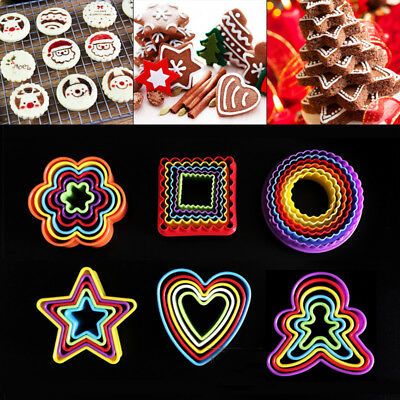 £3.59 • Buy 5Pcs Cookies Cutter Biscuit Fondant Cake Decorating Sugarcraft Mould Mold Tools