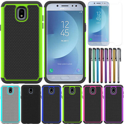 AU7.99 • Buy Heavy Duty Shockproof Case Hybrid Armor Cover For Samsung Galaxy J5 Pro 2017