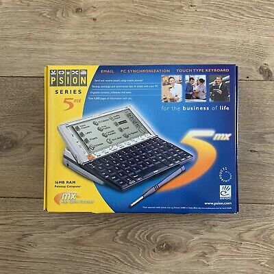 New & Boxed Psion Series 5MX PDA 16MB RAM - English (1900-0103-01) • 400£