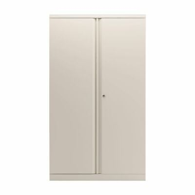 Bisley 2 Door Cupboard Chalk White 1585mm Empty KF78713 BY78713 • 352.47£