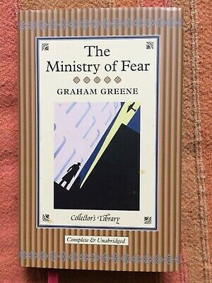 The Ministry Of Fear By Graham Greene  (Collectors Library) • 5£