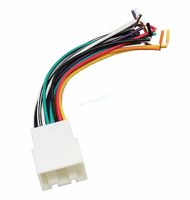 $7.99 • Buy Aftermarket Stereo Radio Harness Connector For Ford-Lincoln-Mercury-Mazda 98-09