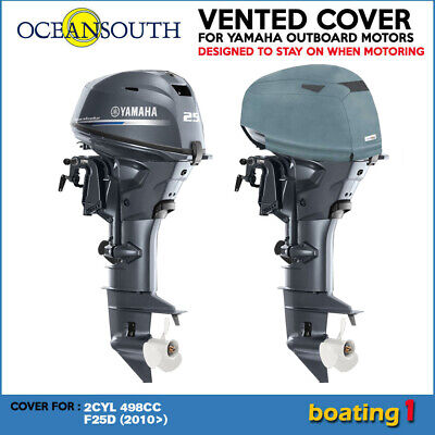AU84.90 • Buy Yamaha Outboard Motor Engine Vented Cowling Cover 2 CYL 498cc F25D (2010>)