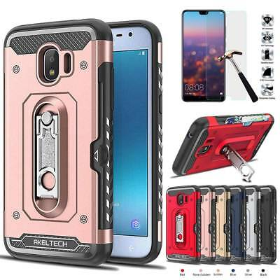 AU8.25 • Buy AKELTECH Heavy Duty Case Shockproof Stand Cover For Samsung Galaxy J2 Pro 2018