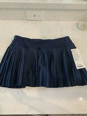 $ CDN172.94 • Buy NWT Lululemon Pleat To Street Skirt Inkwell Sz 8 Sold Out Rare