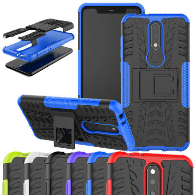 AU8.79 • Buy Shockproof Armor Tough Heavy Duty Stand Case Cover For Huawei Y7 Pro Prime 2019