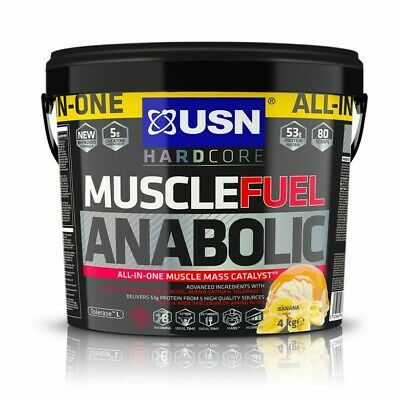 USN Muscle Fuel Anabolic All-In-One Muscle Fuel Chocolate,Strawbery,Vanilla 4KG  • 46.99£