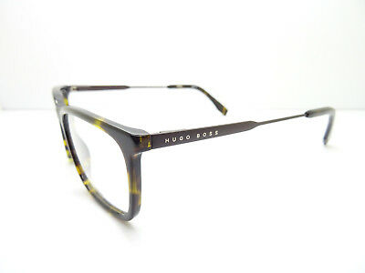 Hugo Boss 0995 086 Dark Havana And Matte Dark Brown,Spectacles,GLASSES,FRAMES • 69£