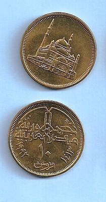 $1 • Buy 1992 Egypt 10 Piasters Uncirculated Coin