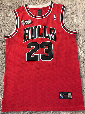 AU39.99 • Buy ~015 #23 JORDAN Chicago Bulls NBA Finals Basketball Jersey Mens 52 VGC