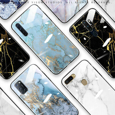 AU16.50 • Buy OPPO A15 A91 A73 AX7 A57 A9 2020 A52 A53s Case Cover Luxury Marble Print Fashion