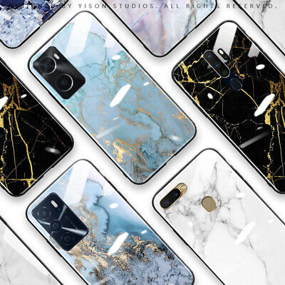 AU16.50 • Buy OPPO A91 A73 AX5 AX7 A57 A9 2020 A52 Case Cover Luxury Marble Print Fashion Case