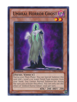AU2 • Buy Umbral Horror Ghost - Mint / Near Mint Condition YUGIOH Card