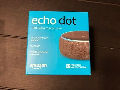 AU12.50 • Buy Amazon Echo Dot - 3rd Generation - Brand New Never Used - Charcoal