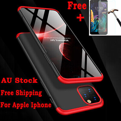 AU8.54 • Buy 360°Luxury PC Cover Shockproof Case For IPhone 11 Pro MAX XR XS 7 8 6S Plus SE