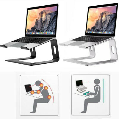 AU43.95 • Buy Portable Aluminum Laptop Stand Cooling Computer Notebook Desk Bed Riser Non Slip