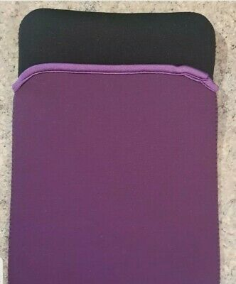 9  Purple Ipad Tablet Neoprene Sleeve Pouch Cover Universal Apple Android Kindle • 3.50£