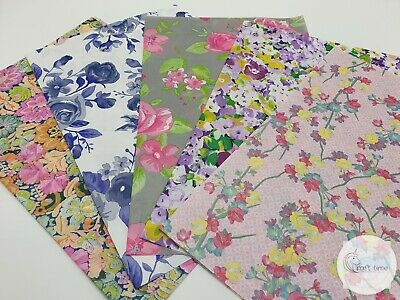 £6.95 • Buy Decopatch Paper, Decoupage Paper FLORAL**5 Full Size** Collection Pack No2